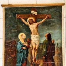 Arte: CRISTO AGONIZA EN LA CRUZ. Lote 256017695