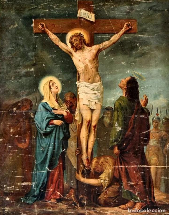 Arte: Cristo agoniza en la cruz - Foto 2 - 256017695