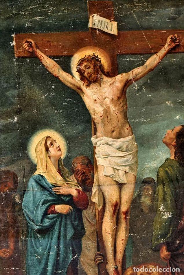 Arte: Cristo agoniza en la cruz - Foto 3 - 256017695