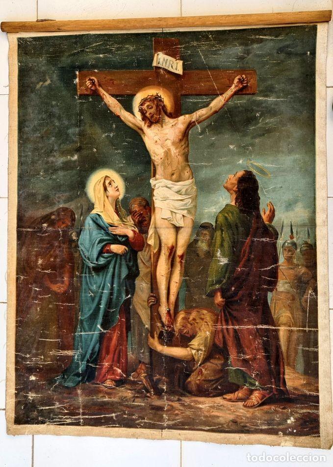 Arte: Cristo agoniza en la cruz - Foto 5 - 256017695