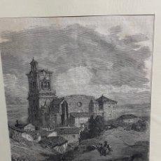Arte: GRABADO ORIGINAL. GUSTAVO DORÉ. ARCOS DE LA FRONTERA. CIRCA 1869. Lote 260082830