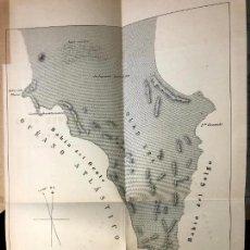 Arte: CUATRO MAPAS DE LA COSTA OCCIDENTAL DE ÁFRICA. SÁHARA. A. OLARTE GOCHEA. 1887.. Lote 260269095