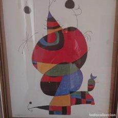 Arte: LITOGRAFIA DE MIRO *MUJER PAJARO ESTRELLA. Lote 261293855