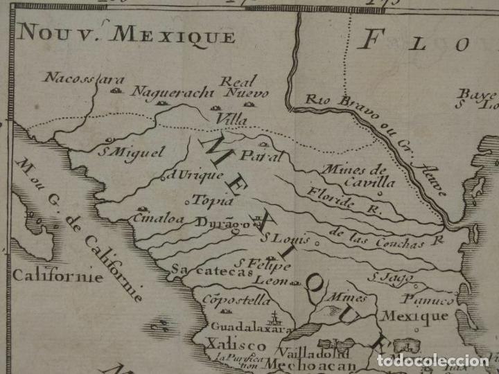 Arte: Mapa de México y América central, 1723. William Dampier - Foto 5 - 261523325