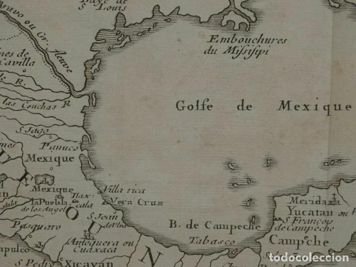 Arte: Mapa de México y América central, 1723. William Dampier - Foto 6 - 261523325