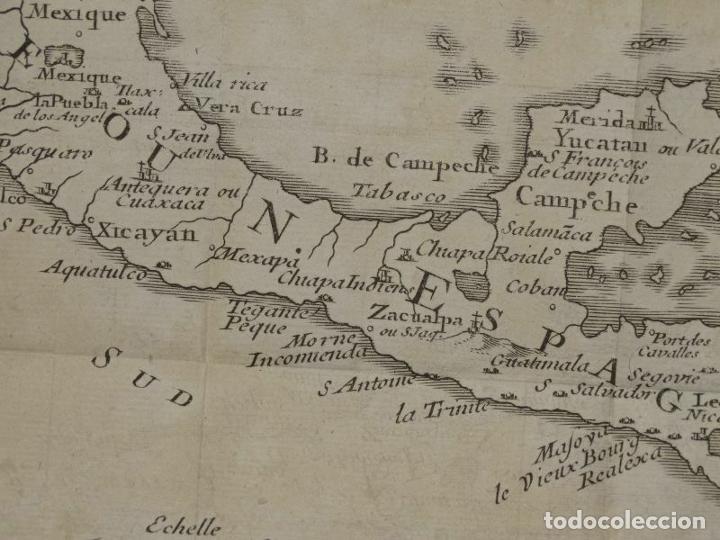 Arte: Mapa de México y América central, 1723. William Dampier - Foto 9 - 261523325