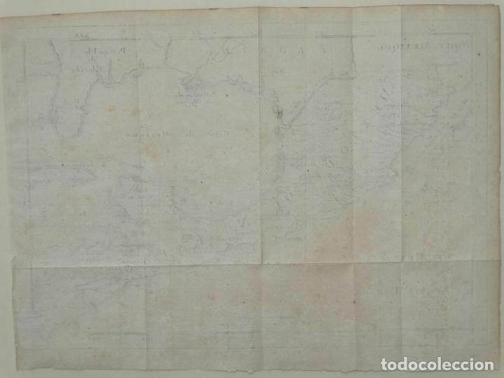 Arte: Mapa de México y América central, 1723. William Dampier - Foto 11 - 261523325