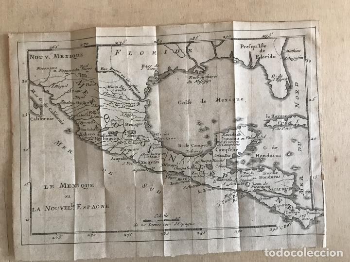 Arte: Mapa de México y América central, 1723. William Dampier - Foto 13 - 261523325