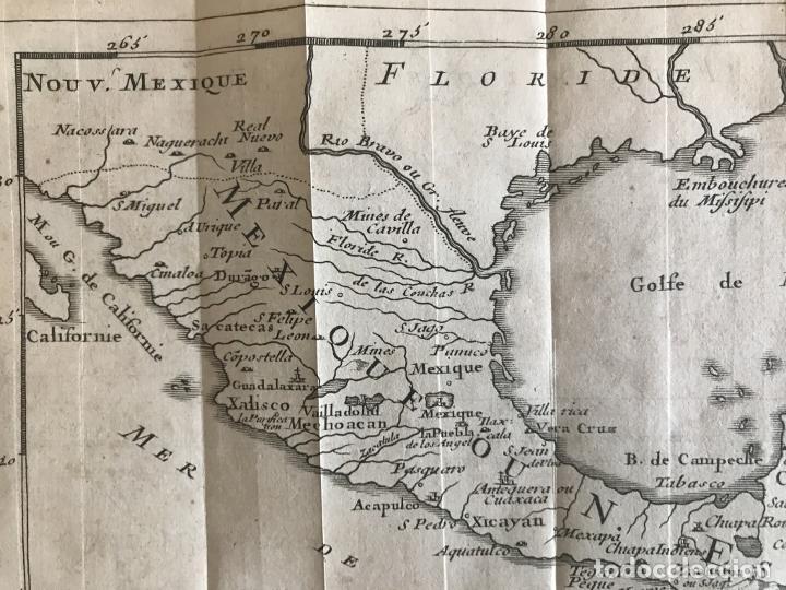 Arte: Mapa de México y América central, 1723. William Dampier - Foto 14 - 261523325