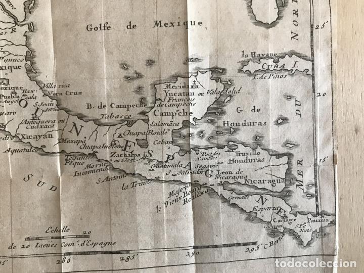 Arte: Mapa de México y América central, 1723. William Dampier - Foto 16 - 261523325