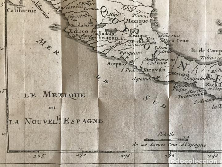 Arte: Mapa de México y América central, 1723. William Dampier - Foto 17 - 261523325