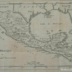 Arte: MAPA DE MÉXICO Y AMÉRICA CENTRAL, 1723. WILLIAM DAMPIER. Lote 261523325