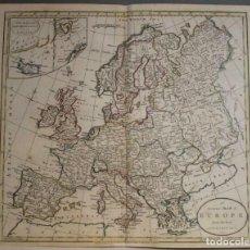 Arte: EUROPA, 1785. WILLIAM GUTHRIE. Lote 263748730