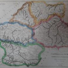 Arte: (PA-210511)MAPA DE CASTILLA LA NUEVA. 1839, DEL GUARDIA NACIONAL. ORIGINAL DE ÉPOCA.. Lote 263915420