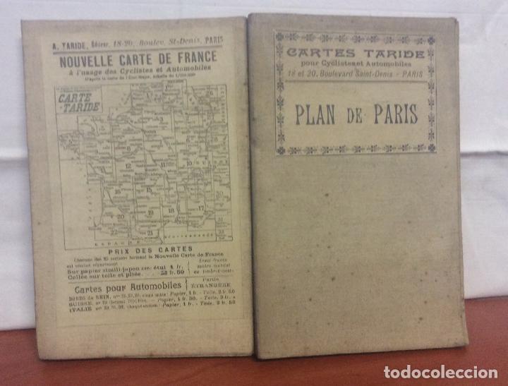 """NOUVEAU PLAN DE PARIS"" CARTES TARIDE C.1920'S STREET MAPA DE PARIS- (Arte - Cartografía Antigua (hasta S. XIX))"