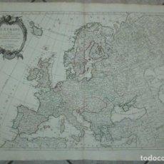 Arte: GRAN MAPA DE EUROPA, 1784. JANVIER/SANTINI/REMONDINI. Lote 265328899