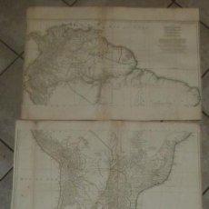 Arte: GRAN MAPA DE AMÉRICA DEL SUR (3 HOJAS), 1748. D'ANVILLE. Lote 265533869