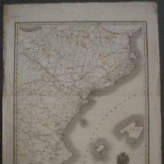 Arte: GRAN PLANO HISTÓRICO DEL ESTE DE ESPAÑA E INMEDIACIONES, 1828. LOUIS-GABRIEL SUCHET. Lote 267174609