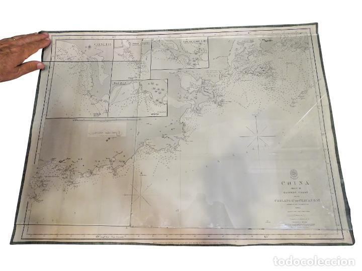 MAPA CARTOGRÁFICO DE CHINA, 1845- RICHARD COLLINSON (Arte - Cartografía Antigua (hasta S. XIX))