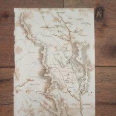 Arte: MAPA BATALLA DE TALAVERA DE LA REINA, TOLEDO, GUERRA INDEPENDENCIA, ORIGINAL, 1829. LONDRES, NAPIER.. Lote 268759529