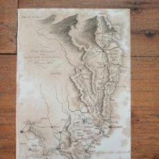 Arte: MAPA OPERACIONES MILITARES EN CATALUÑA, GUERRA INDEPENDENCIA, ORIGINAL, 1829. LONDRES, NAPIER.. Lote 268800539