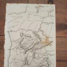 Arte: MAPA DEFENSA PORTUGAL GUERRA INDEPENDENCIA, ORIGINAL 1831.LONDRES, NAPIER.. Lote 268878669