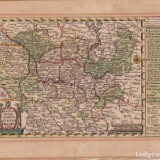 Arte: MAPA ANTIGUO SIGLO XVIII BRANDEBURGO POSTDAM ALEMANIA 1741 - SCHREIBER. Lote 268883869