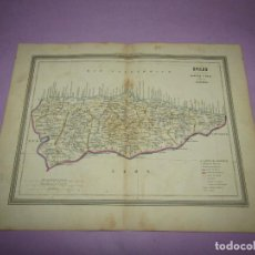 Arte: ANTIGUO MAPA DE OVIEDO EN LITOGRAFÍA POR MARTÍN FERREIRO DE GASPAR Y ROIG EDITORES - AÑO 1852-1864. Lote 269255113