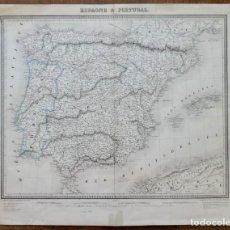 Arte: GRABADO ESPAGNE & PORTUGAL - AMBROISE TARDIEU - 1830/40- 51 X 41 CM. Lote 270900183