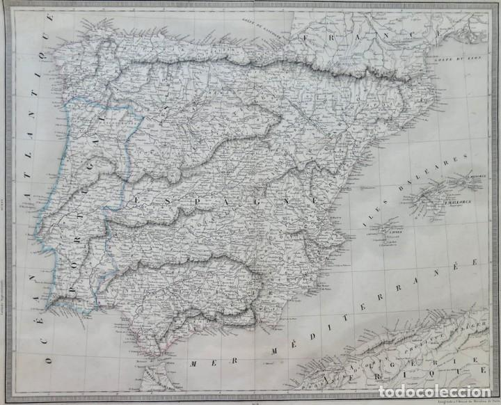 Arte: GRABADO ESPAGNE & PORTUGAL - AMBROISE TARDIEU - 1830/40- 51 X 41 CM - Foto 2 - 270900183