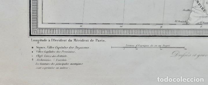 Arte: GRABADO ESPAGNE & PORTUGAL - AMBROISE TARDIEU - 1830/40- 51 X 41 CM - Foto 3 - 270900183