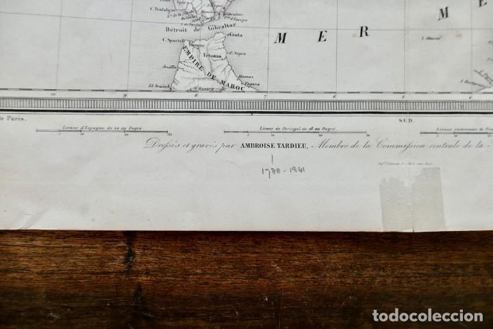 Arte: GRABADO ESPAGNE & PORTUGAL - AMBROISE TARDIEU - 1830/40- 51 X 41 CM - Foto 4 - 270900183