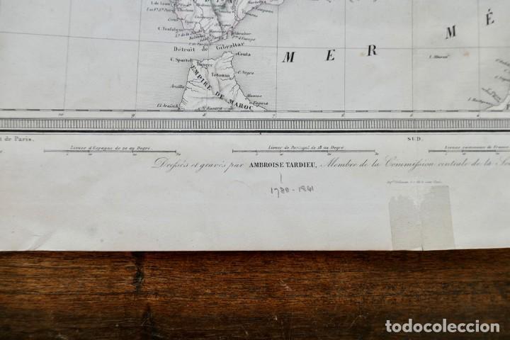 Arte: GRABADO ESPAGNE & PORTUGAL - AMBROISE TARDIEU - 1830/40- 51 X 41 CM - Foto 5 - 270900183