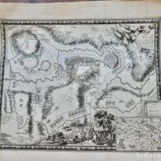 Arte: PLAN DE LA VILLE DE MONMÉDY AU DUCHÉ DE LUXEMBOURG. ASSIÉGÉ PAR L'ARMÉE DU ROY LOUIS XIII. 1657. Lote 270903268