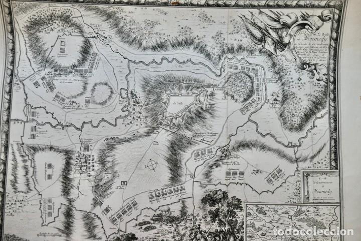 Arte: Plan de la ville de Monmédy au duché de Luxembourg. Assiégé par lArmée du roy Louis XIII. 1657 - Foto 7 - 270903268