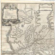 Arte: 1751 CA. MAPA ASEDIO PRATS DEL REY, BARCELONA GUERRA DE SUCESIÓN. (RAPIN - TINDAL - BASIRE. Lote 275840123