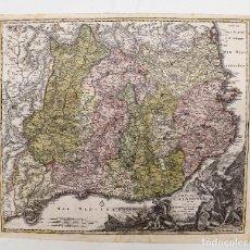 Arte: MAPA CATALUÑA S. XVIII APROX. - PRINCIPATUS CATALONIAE. NOVA TABULA, IO. BAPT. HOMANNO. 51X63,5CM.. Lote 276388753