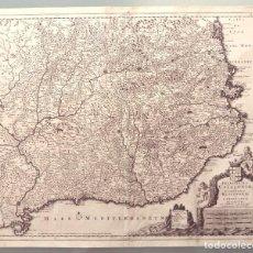 Arte: CORNELIS DANCKERTS- PRINCIPATUS CATALONIAE ET COMITATUS RUSCINONIS ET CERRETANIAE DESCRIPTIO. Lote 276444468