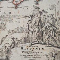 Arte: IMPORTANTE MAPA DE ESPAÑA, HOMANN ORIGINAL, NUREMBERG, 1725, GRAN TAMAÑO, ESTADO Y PRECIO¡¡¡¡¡. Lote 276534248