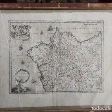 Arte: FANTASTICO MAPA DE GALICIA.- 1635. F. FER. OJEA. GALLAECIA REGNVM.. Lote 276542198