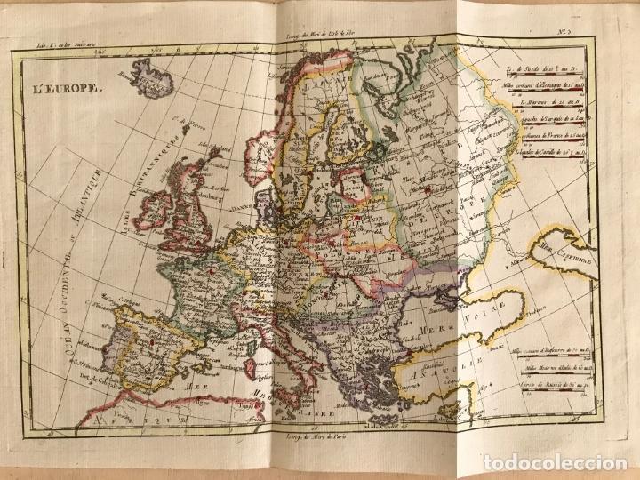 Arte: Mapa de Europa, 1781. Bonne / Raynal - Foto 3 - 277640088