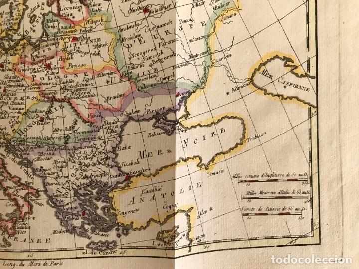 Arte: Mapa de Europa, 1781. Bonne / Raynal - Foto 6 - 277640088