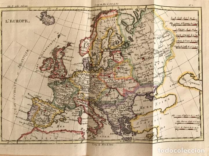 Arte: Mapa de Europa, 1781. Bonne / Raynal - Foto 9 - 277640088