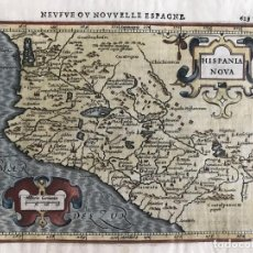 Arte: MAPA DE MÉXICO, HACIA 1620. PETRUS BERTIUS. Lote 280109348