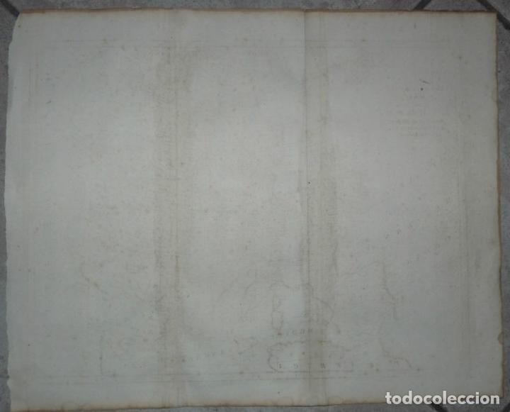 Arte: Gran mapa de Europa, 1780. Bowen - Foto 4 - 281994128