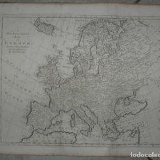 Arte: GRAN MAPA DE EUROPA, 1780. BOWEN. Lote 281994128