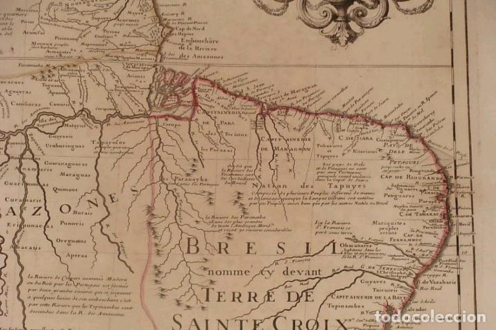 Arte: Gran mapa del norte de América del Sur, 1703. De Lisle / Covens y Mortier - Foto 6 - 282496508