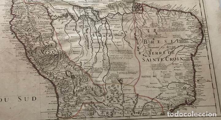 Arte: Gran mapa del norte de América del Sur, 1703. De Lisle / Covens y Mortier - Foto 9 - 282496508