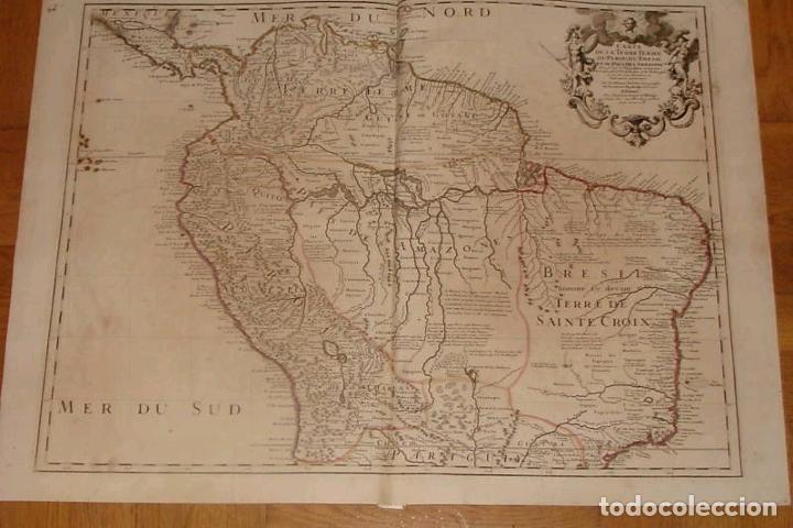 GRAN MAPA DEL NORTE DE AMÉRICA DEL SUR, 1703. DE LISLE / COVENS Y MORTIER (Arte - Cartografía Antigua (hasta S. XIX))