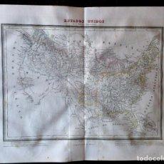 Arte: MAPA OCEANIA O AUSTRALASIA Y POLINESIA PABLO ALABERN. TARDIEU 1831. CALCOGRÁFICO. Lote 286158393